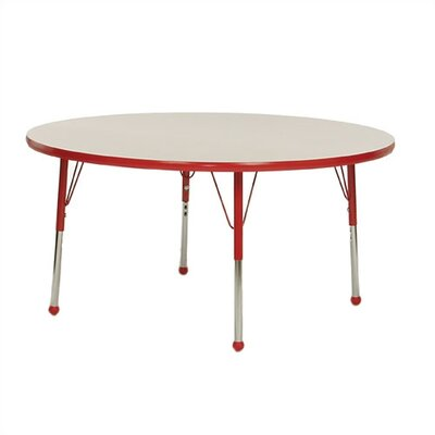 Mahar Large Round Creative Colors Activity Table