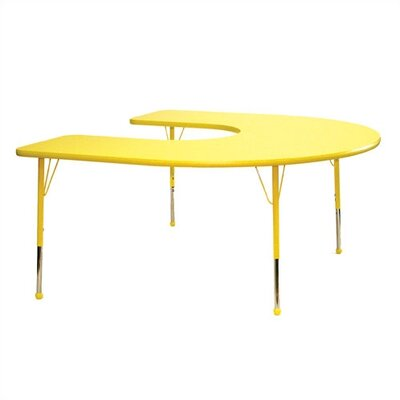Mahar Horseshoe Creative Colors Activity Table
