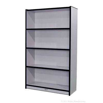 Mahar 60&quot; Single-Sided Bookcase