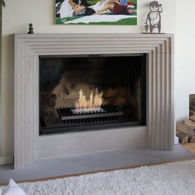 gel burning fireplace wayfair
