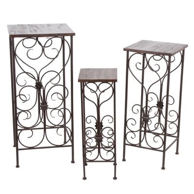 Privilege Plant Stand (Set of 3)