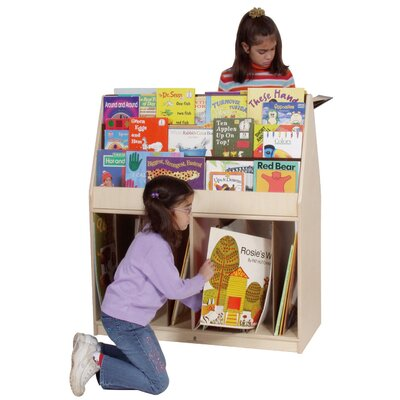 Steffy Wood Products Multi-Store Mobile Book Stand