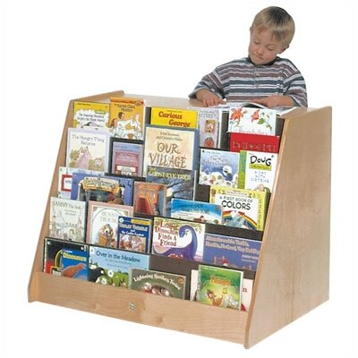 Steffy Wood Products Book Display and Storage Unit