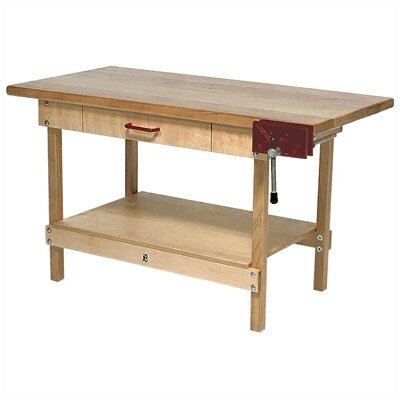 Steffy Wood Products Maple Workbench