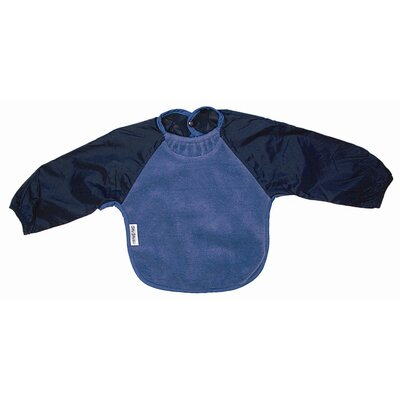 Silly Billyz Long Sleeve Fleece Bib in Teal
