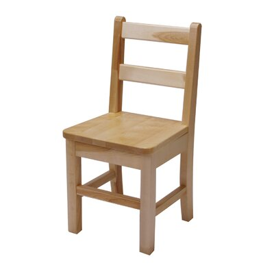 "J.B. Poitras 10"" Small Maple Classroom Glides Chair"
