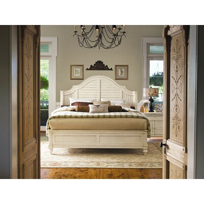 Steel magnolia panel bedroom collection wayfair - Steel magnolia bedroom furniture ...