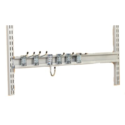 "Triton Products 31"" Combo Rail Kit Plus 6 Hooks"