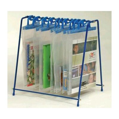 Copernicus Hanging Bag Stand With 10 Bags