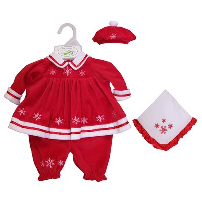 "Molly P. Originals Molly P. Apparel 13"" Martina Doll Ensemble in Red"