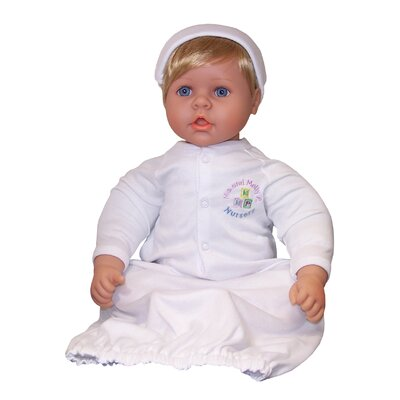 "Molly P. Originals 20"" Nursery Collection Baby Doll Medium Blonde / Blue Eyes"