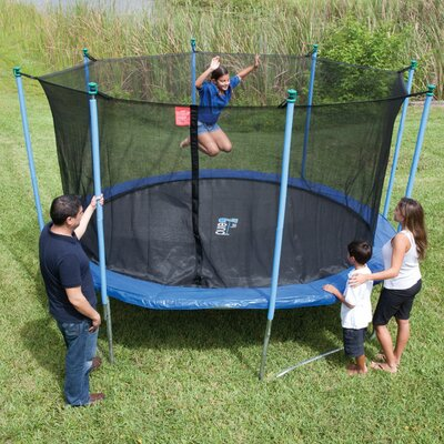 Pure Fun 10' Trampoline with Enclosure