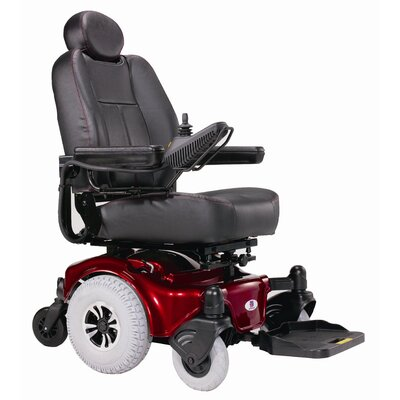 Heartway Allure Power Chair Mid Wheel Drive Heavy Duty with Captain Seat