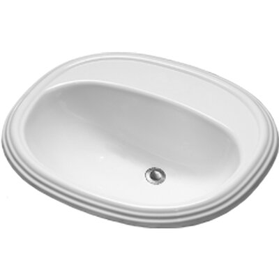Advantage Williston Self Rimming Oval Bathroom Sink - 93