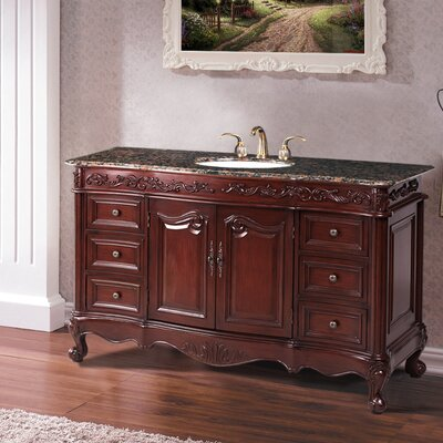 Bathroom Vanity  on 56  Bathroom Vanity Set Features   Single Sink Bathroom Vanity