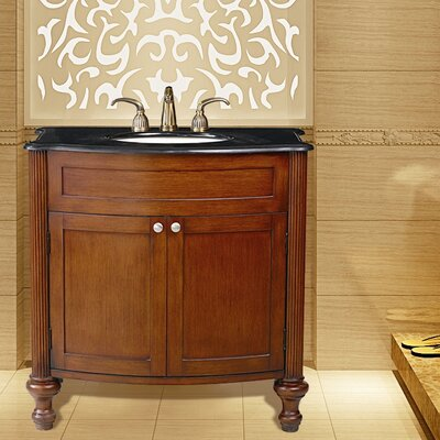 "Stufurhome Georgiana 36"" Single Bathroom Vanity Set"