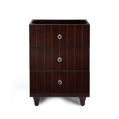 "Xylem Capri 24"" Bridge Drawer Vanity Base"