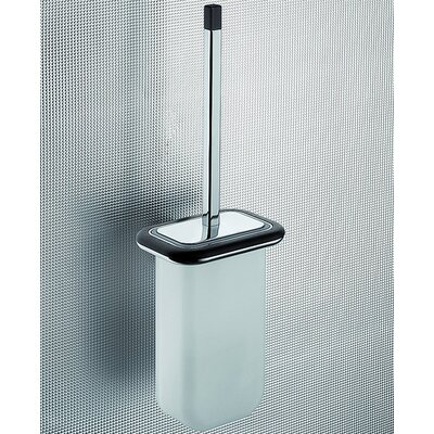 Gedy by Nameeks Odos Wood Wall Mounted Toilet Brush Holder in Wenge
