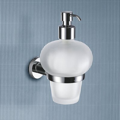 Gedy by Nameeks Demetra Wall Mounted Soap Dispenser in Chrome