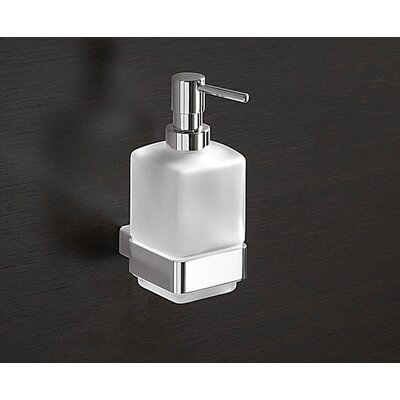 Gedy by Nameeks Lounge Wall Mounted Soap Dispenser in Chrome