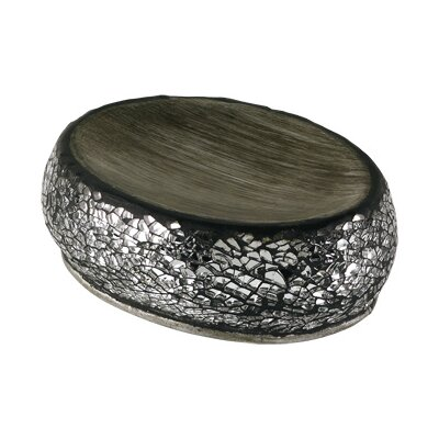 Gedy by Nameeks Myosotis Soap Holder in Silver