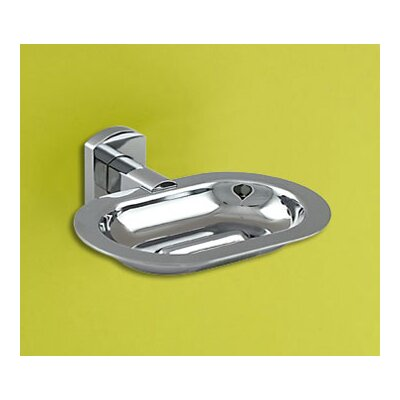Gedy by Nameeks Edera Soap Dish in Chrome