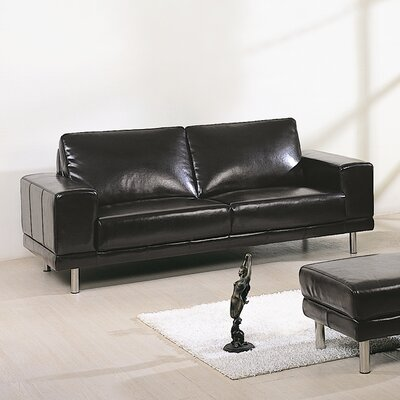 Hokku Designs Concorde Leather Sofa