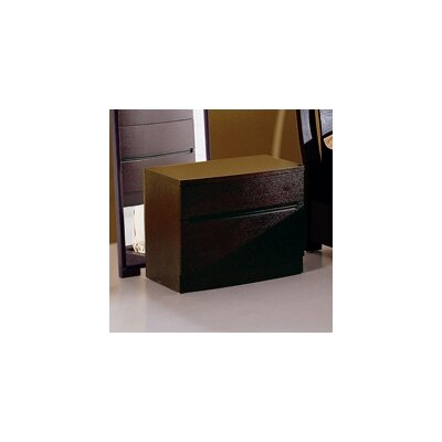 Hokku Designs Maya 2 Drawer Nightstand