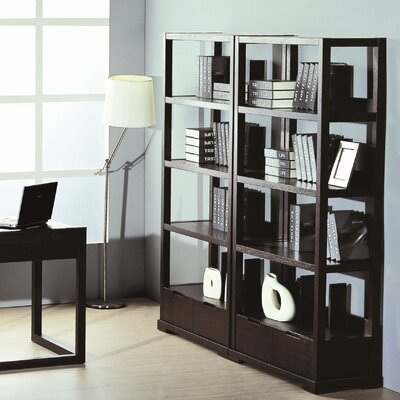 Hokku Designs Parson Bookcase in Wenge