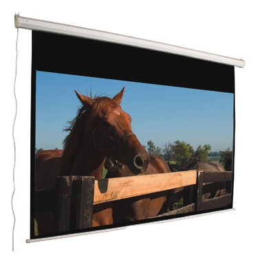 "Mustang 120"" 16:9 Aspect Ratio Electric Screen in Matte White"