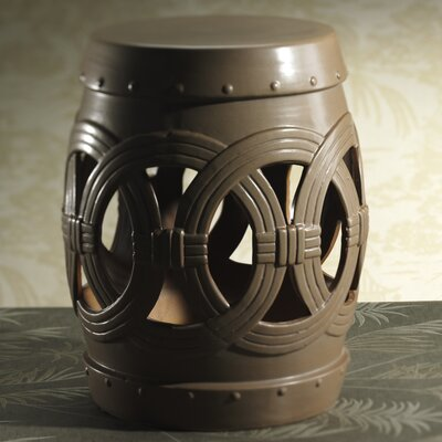 Zodax Chandara Earthenware Garden Stool