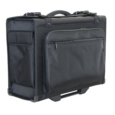 "Netpack 14"" Hardsided Rolling Computer Catalog Case"