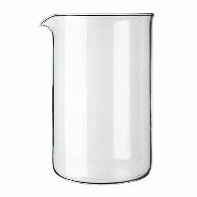 Bodum Spare Glass (Plastic) French Press 8 Cup Shatter Resistant Replacement Carafe