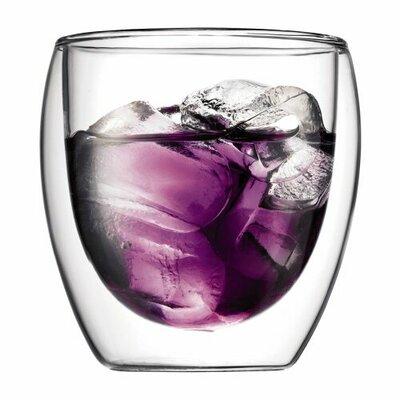 Bodum Pavina 8 oz Double Wall Insulated Glass (Set of 2)