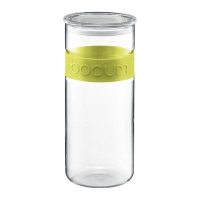 Bodum Presso Glass Storage Jar with Silicone Band