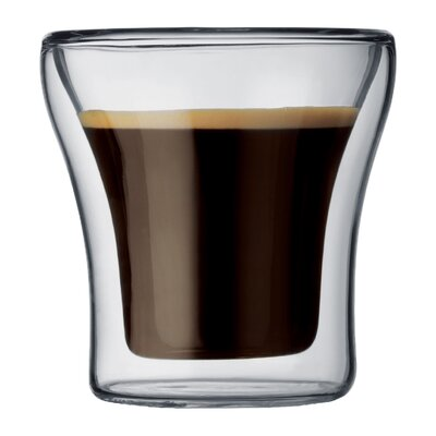 Bodum Assam 25 oz. Double Wall Shot / Espresso Glasses