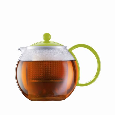 Bodum Bistro 34 Ounce Tea Press Pot with Plastic Filter