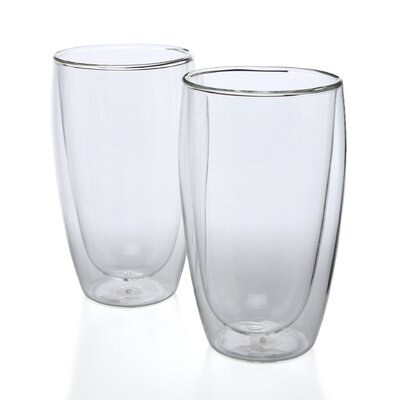 Bodum Pavina 15 oz Double Wall Insulated Glass (Set of 2)