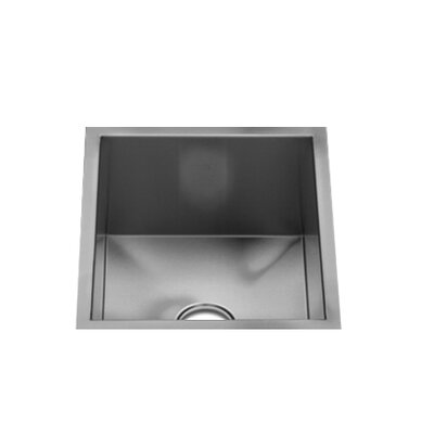 "Julien UrbanEdge 13"" x 15.5"" Undermount Stainless Steel Single Bowl Specialty Sink"