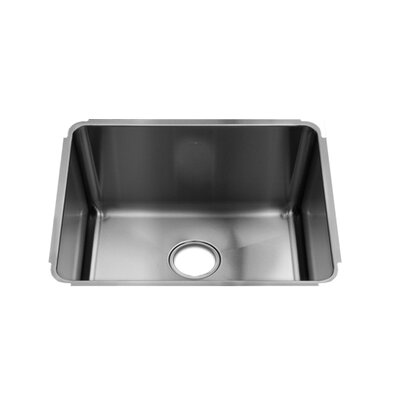 "Julien Classic 22"" x 18.5"" Undermount Single Bowl Kitchen Sink"