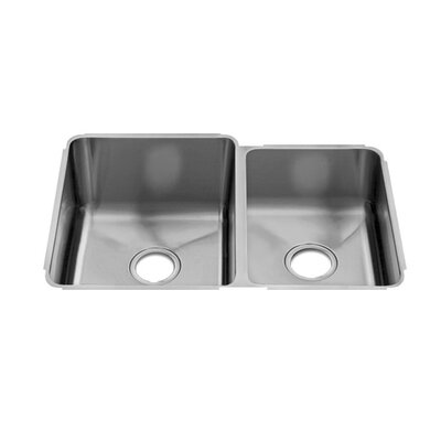 "Julien Classic 29"" x 19.5"" Undermount Double Bowl Kitchen Sink"