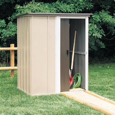 Arrow Brentwood Steel Tool Shed