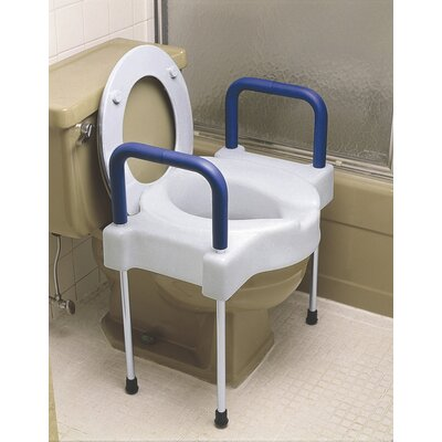 Tall-Ette Elevated Toilet Seat with Aluminum Legs