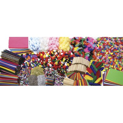 Chenille Kraft Company Colossal Crafts Super Value Craft Box