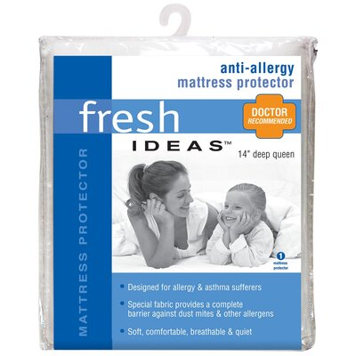 Fresh Ideas Anti-Allergy Polyester Mattress Protector