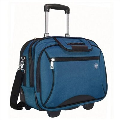 "Heys USA Notebag PRO 16.5"" Rolling Computer Case in Navy"
