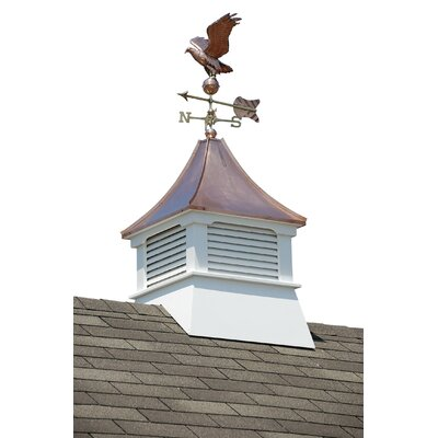 Homeplace Belvedere Cupola with Copper Roof and Weathervane