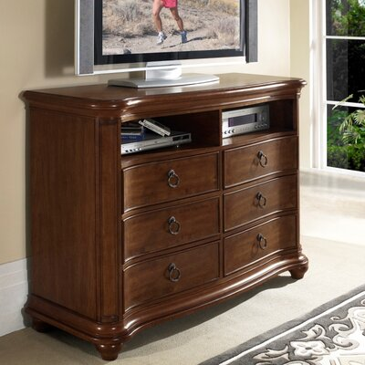 Somerton Melbourne 6 Drawer Media Chest