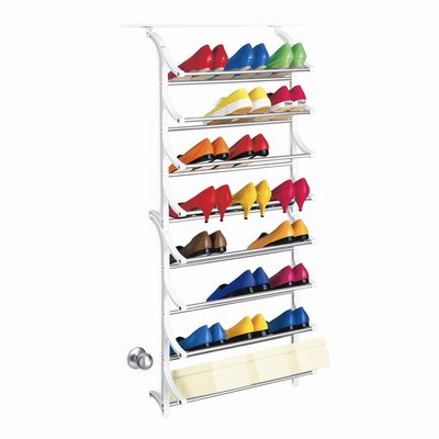 Lynk 24 Pair OverDoor Shoe Rack