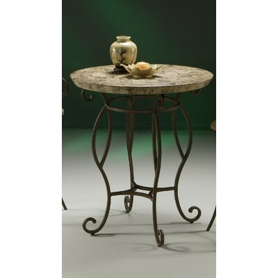 "Pastel Furniture Atrium II Pub Table with 36"" Marble Top"